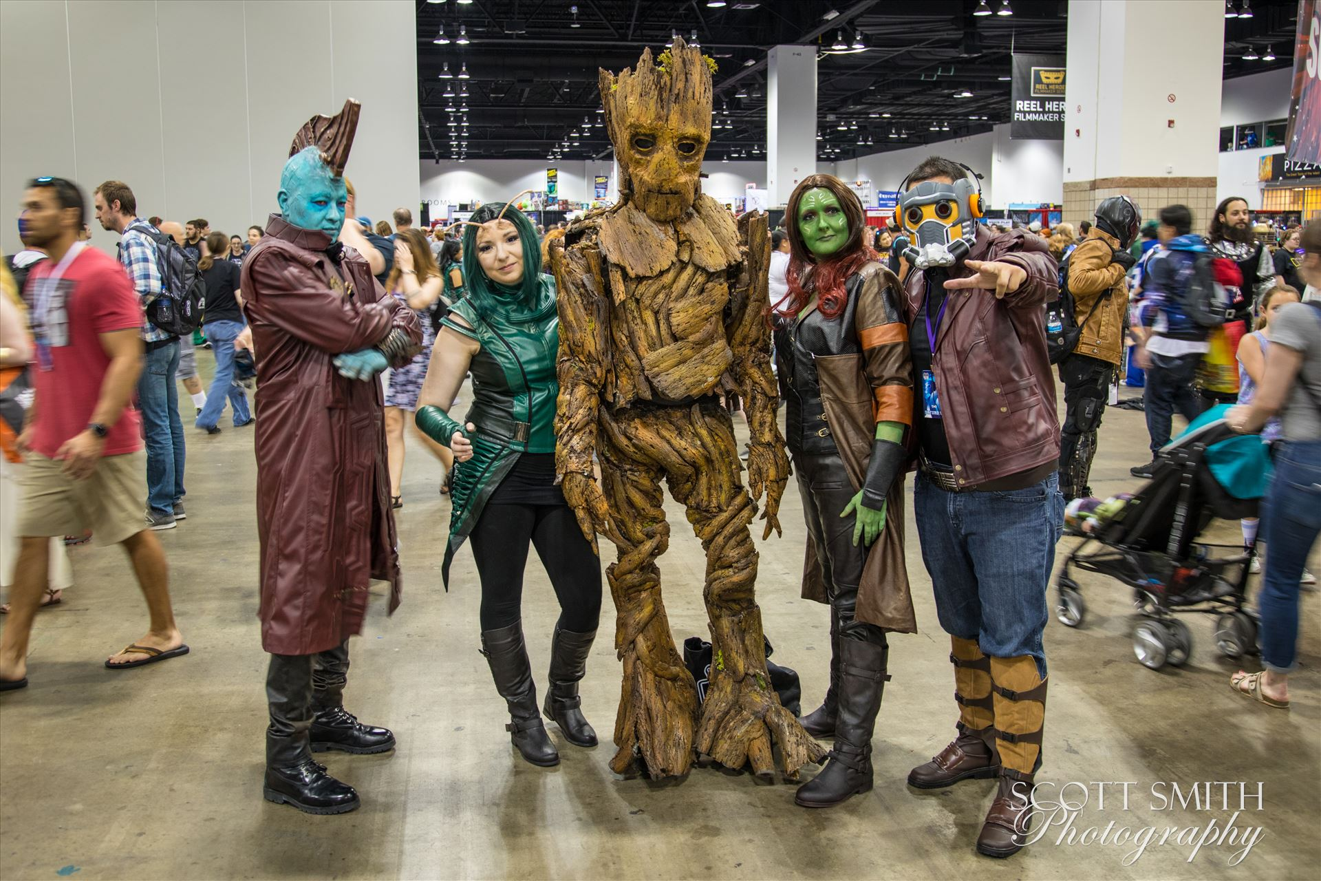 Guadians of the Galaxy at Denver Comic Con 2018 -  by D Scott Smith