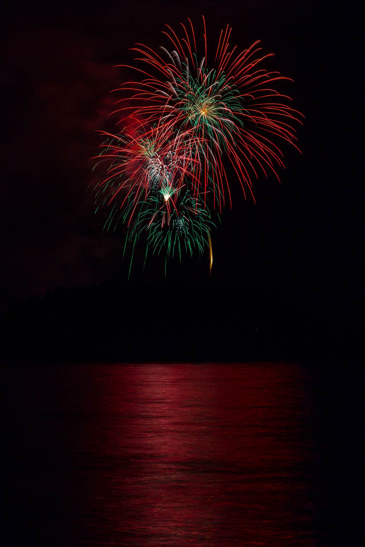 Dillon Reservoir Fireworks 2015 51 -  by D Scott Smith
