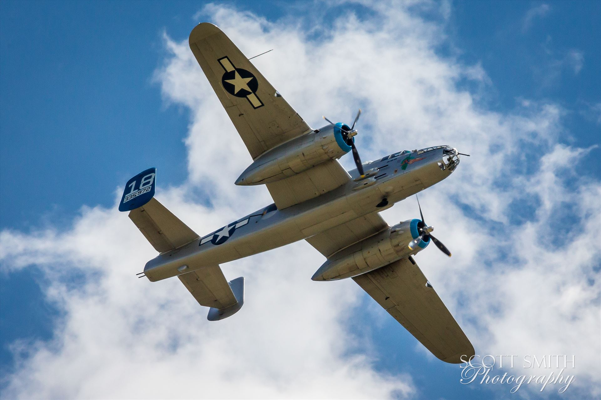 North American B-25B Mitchell 4 -  by D Scott Smith