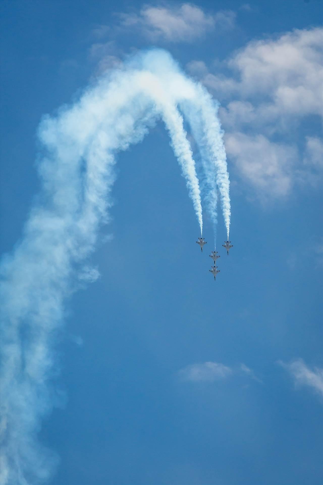 USAF Thunderbirds 20 -  by D Scott Smith