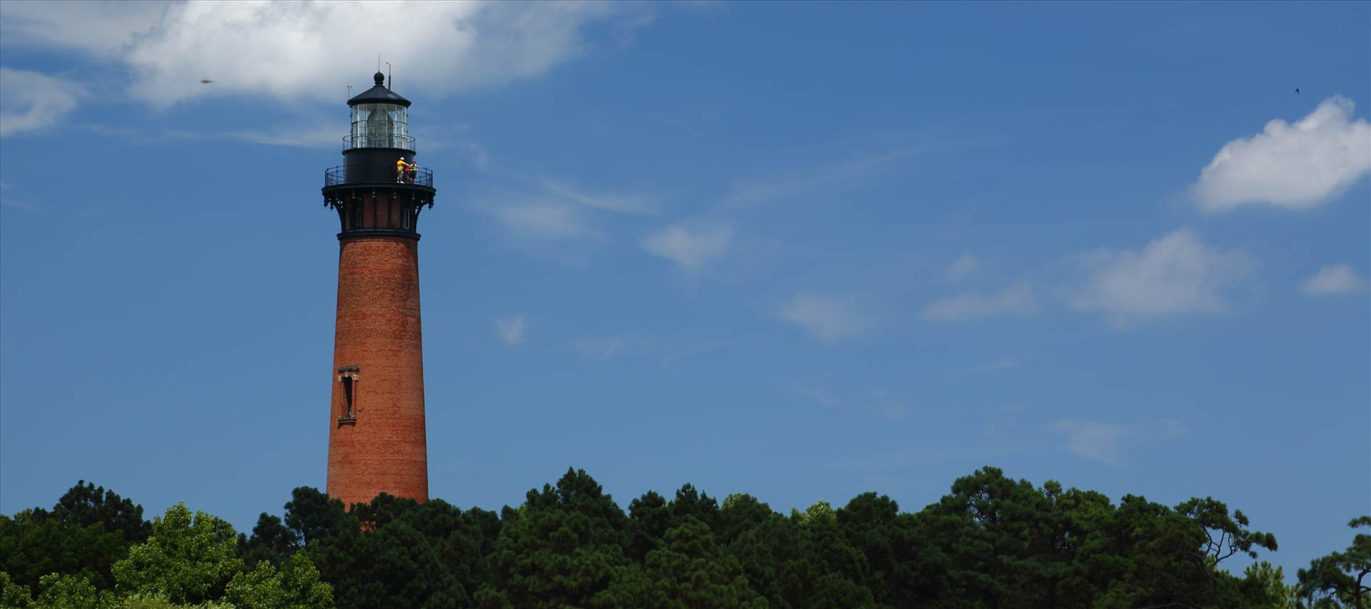 Currituck Lighthouse From Afar - Currituck, North Carolina Lighthouse by D Scott Smith