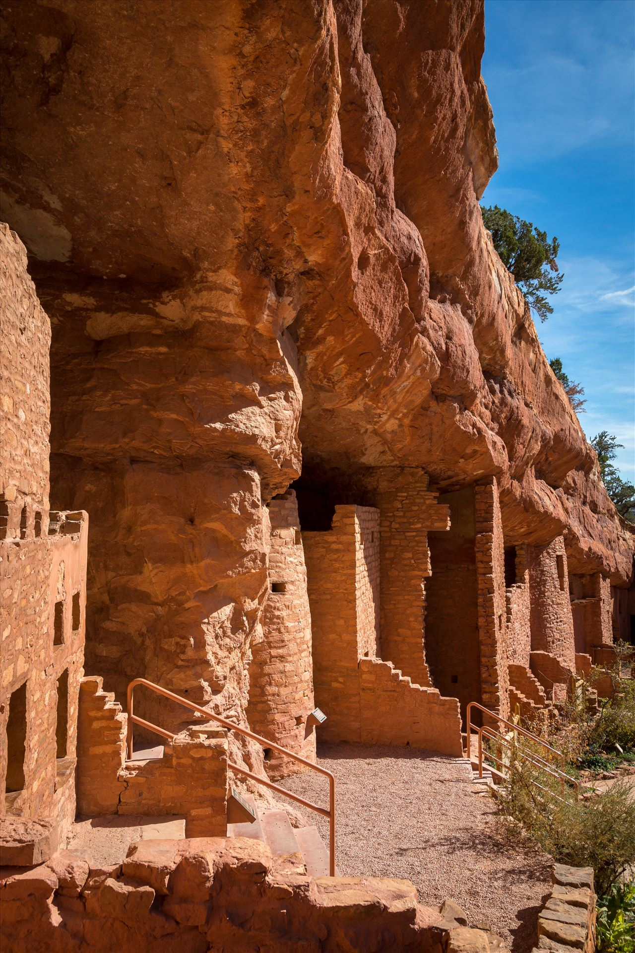Cliff Dwellings - Manitou cliff dwellings, a few miles from Manitou, Colorado. by D Scott Smith