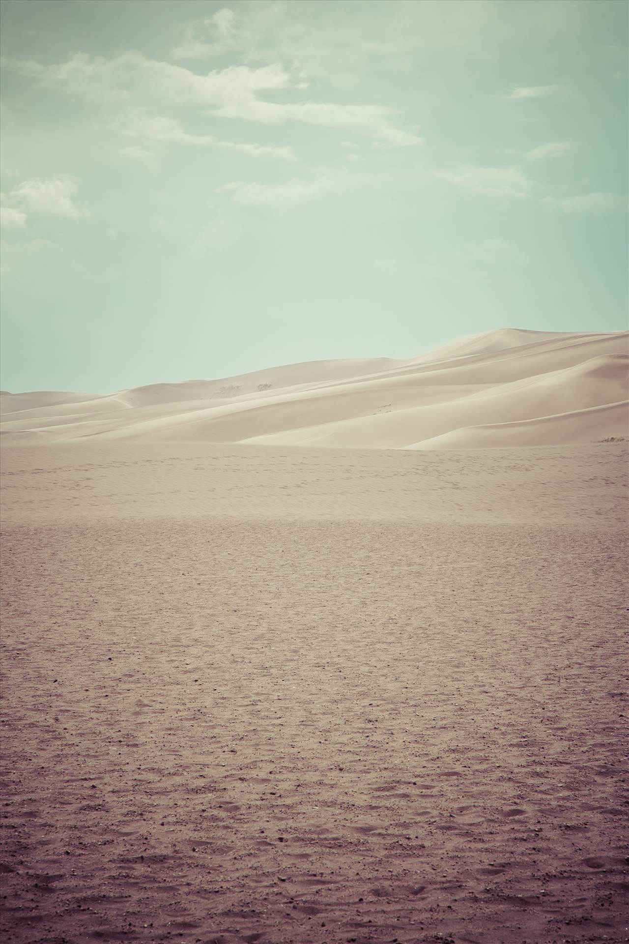 Great Sand Dunes 9 (split toned) -  by D Scott Smith