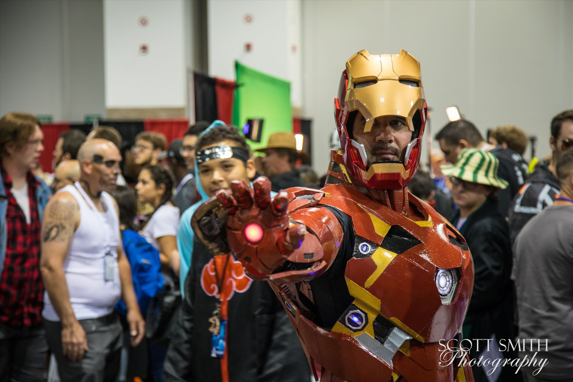 Iron Man  at Denver Comic Con 2018 -  by D Scott Smith