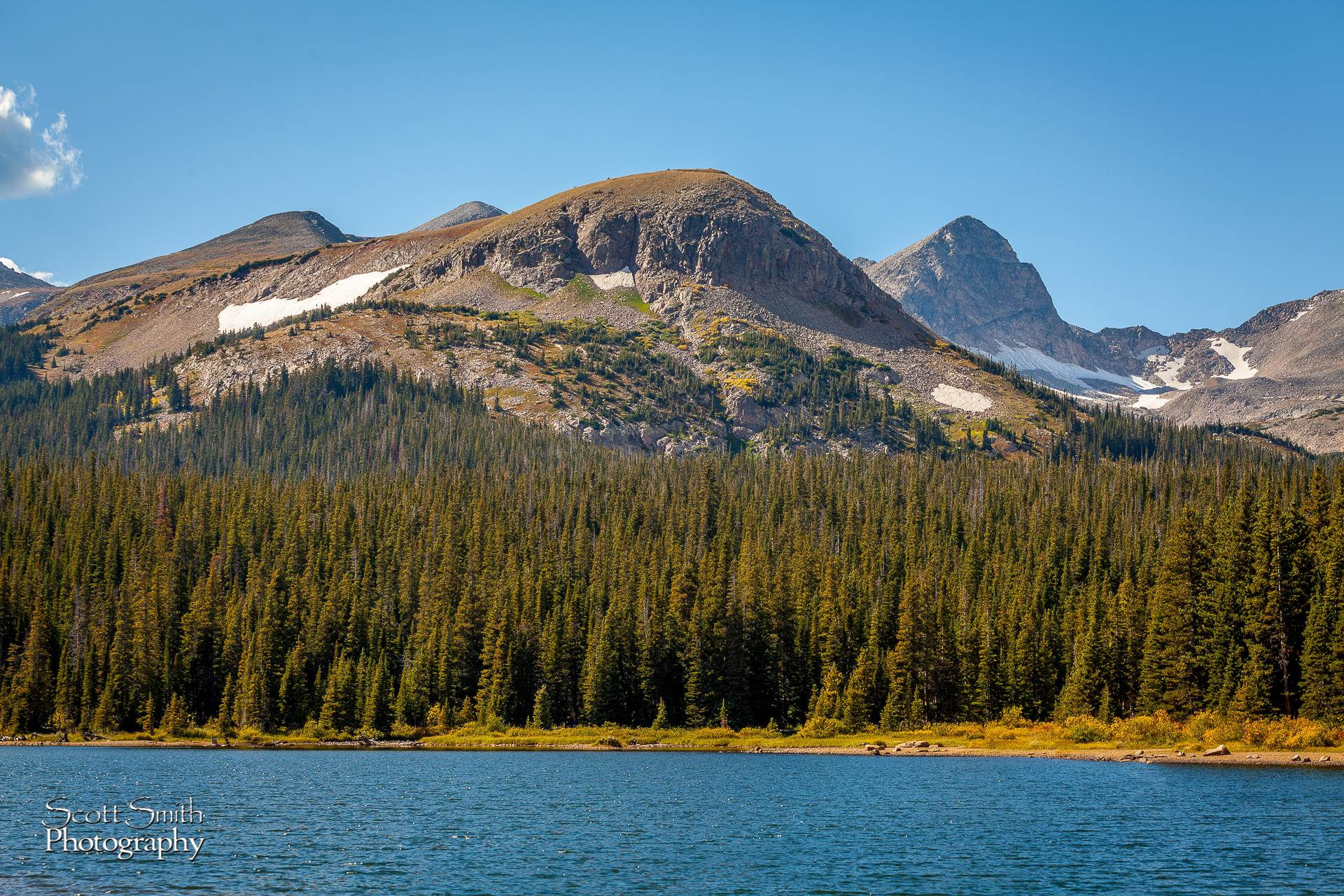 Brainard Lake - Heading to the hike to Long Lake, fall 2011. Beautiful scenery. by D Scott Smith