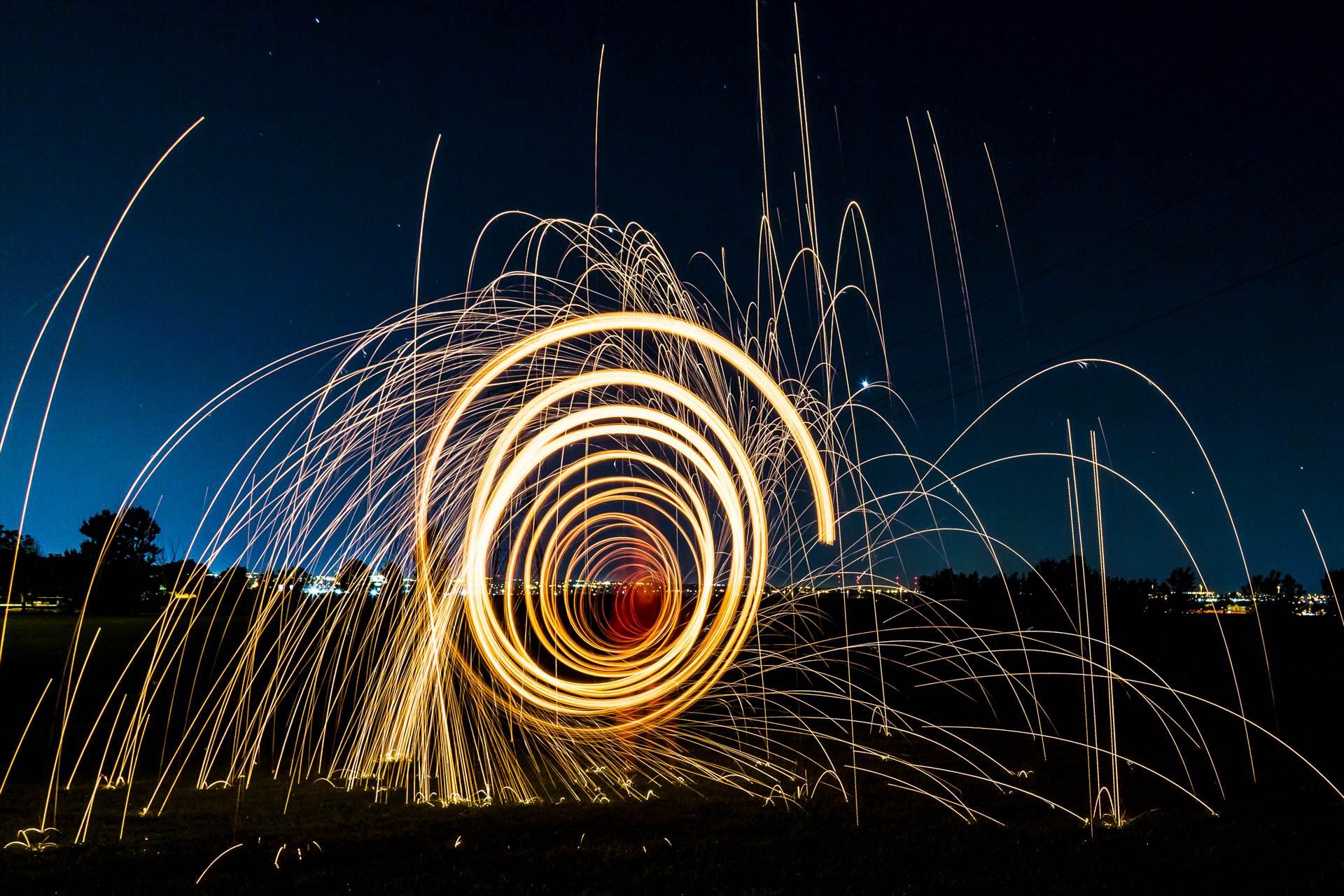 Steel Wool Tunnel II -  by D Scott Smith