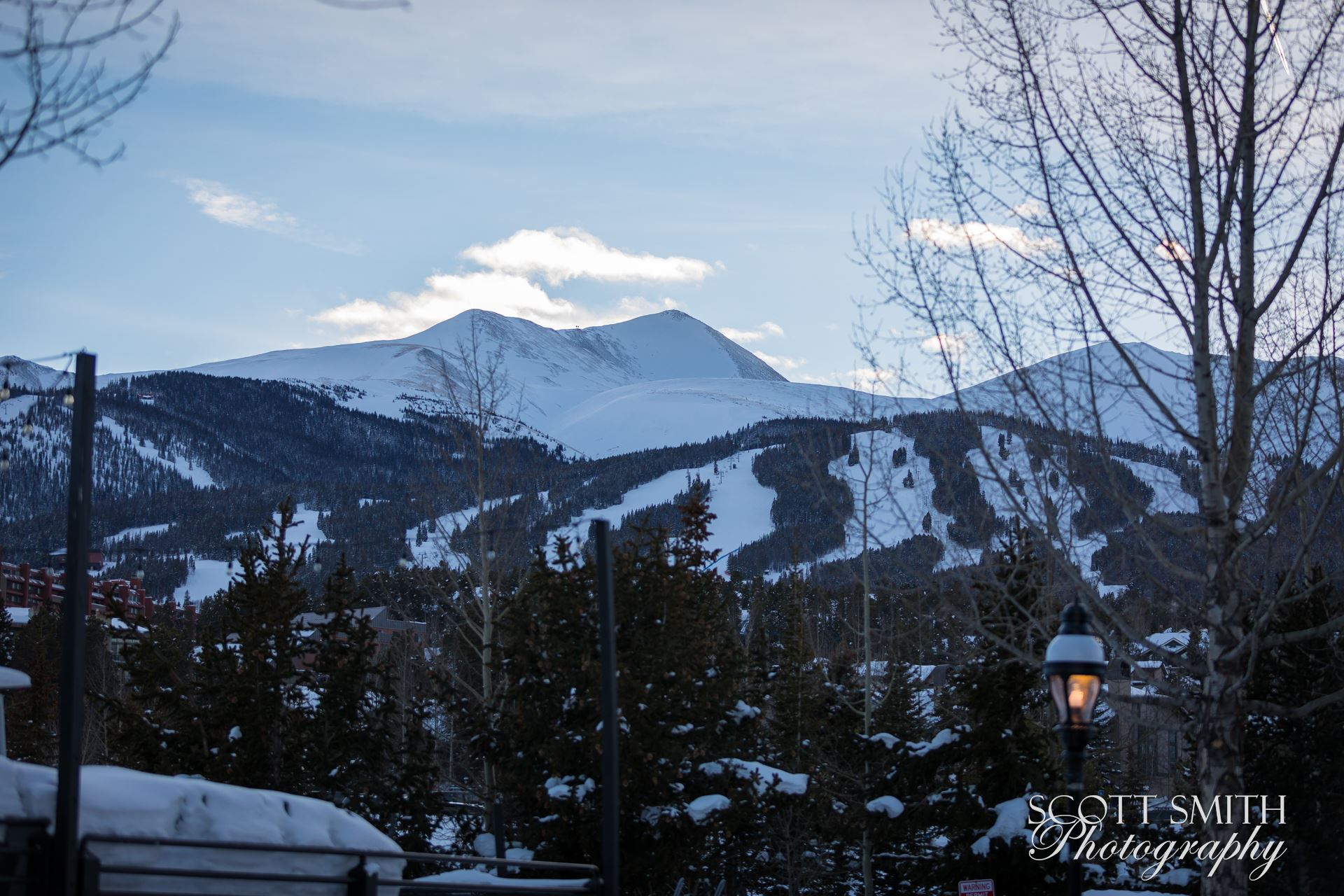 Breckenridge in Wintertime 02 -  by D Scott Smith