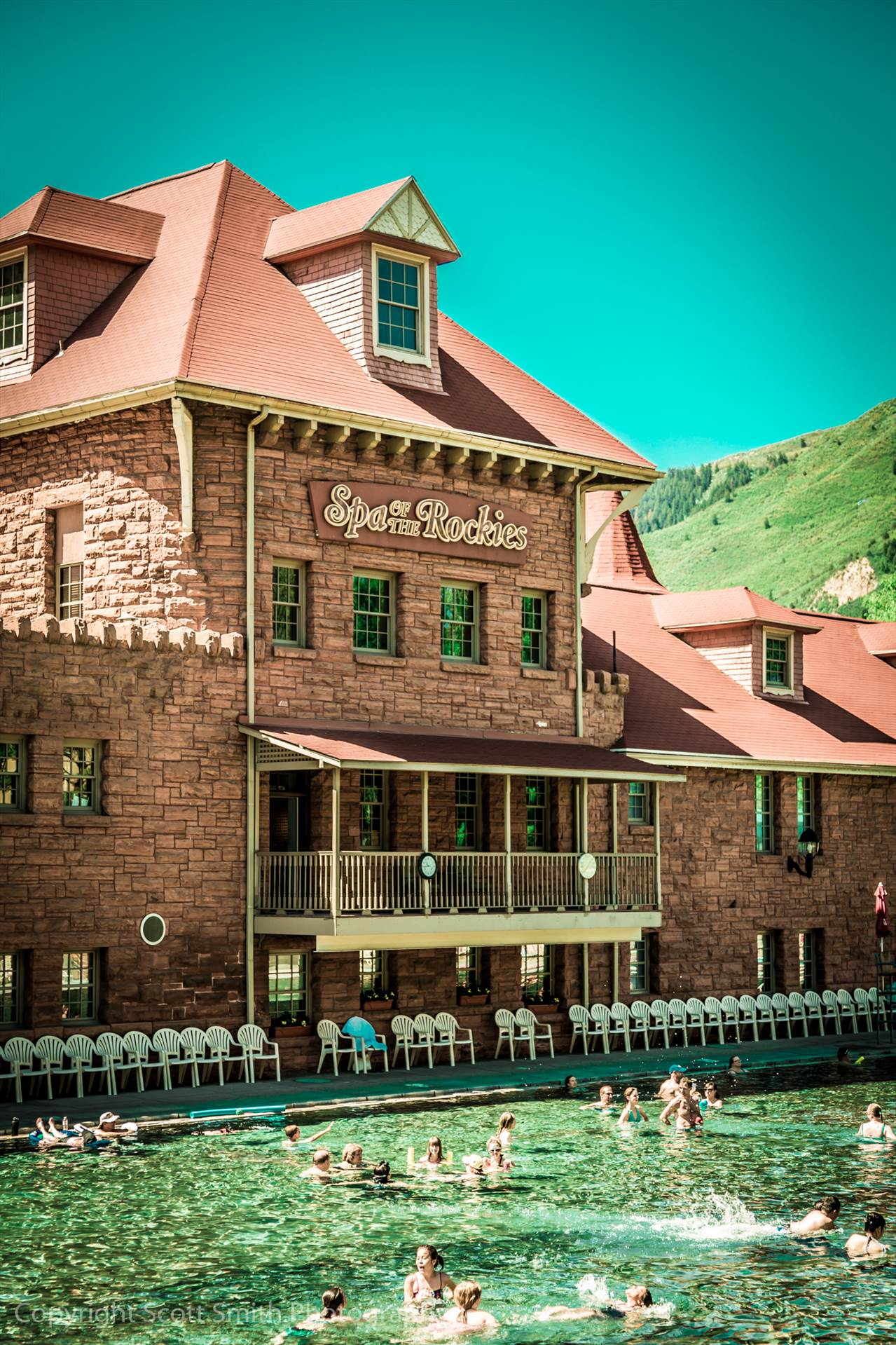 Glenwood Hot Springs -  by D Scott Smith