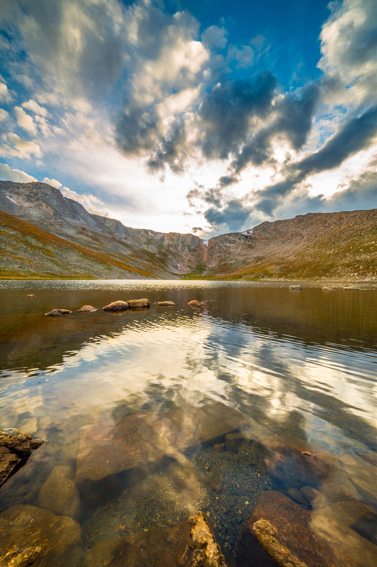 Summit Lake, Mt Evans II - Summit Lake, near the summit of Mt Evans, Colorado. by D Scott Smith