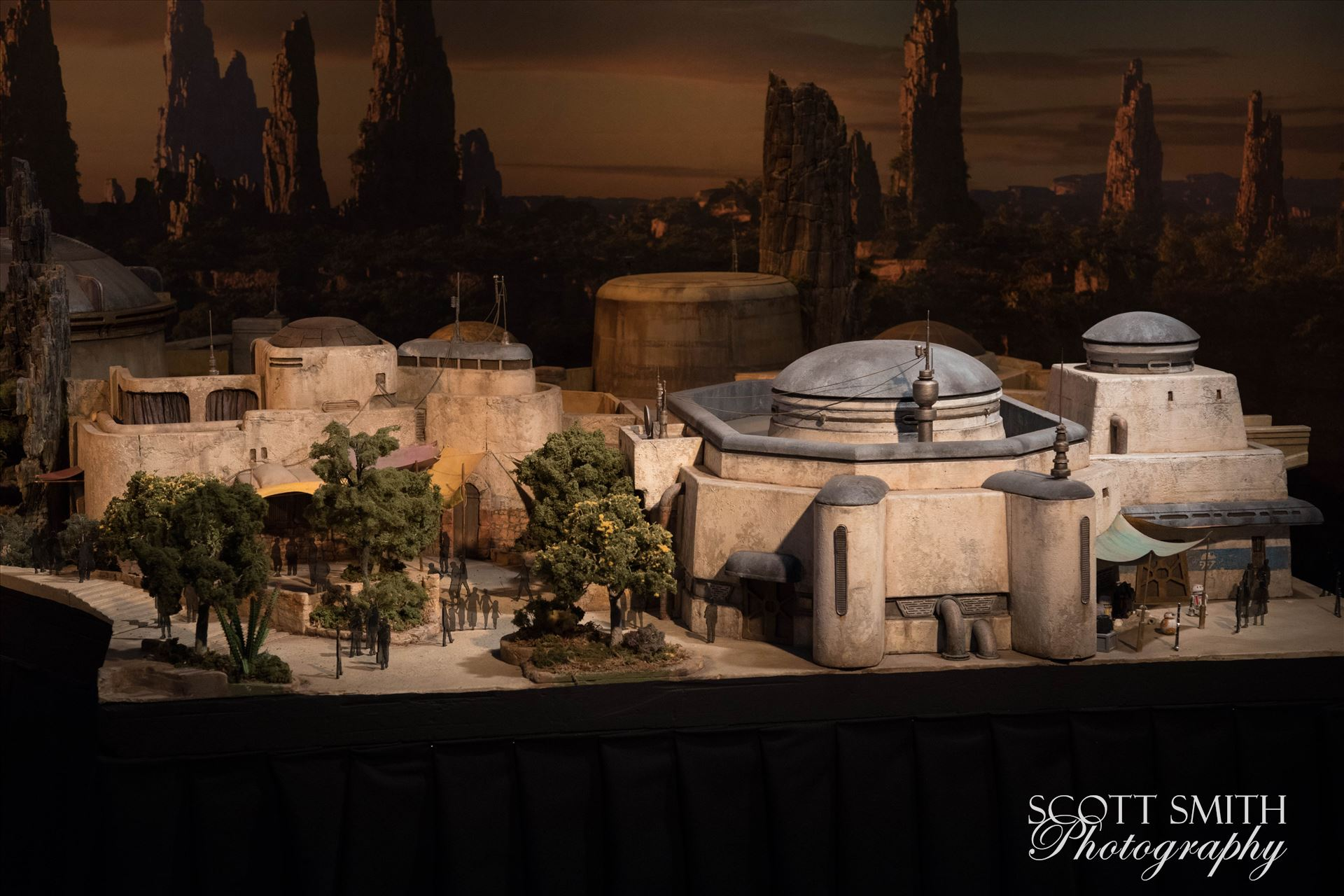 Star Wars Galaxy's Edge Model 2 -  by D Scott Smith