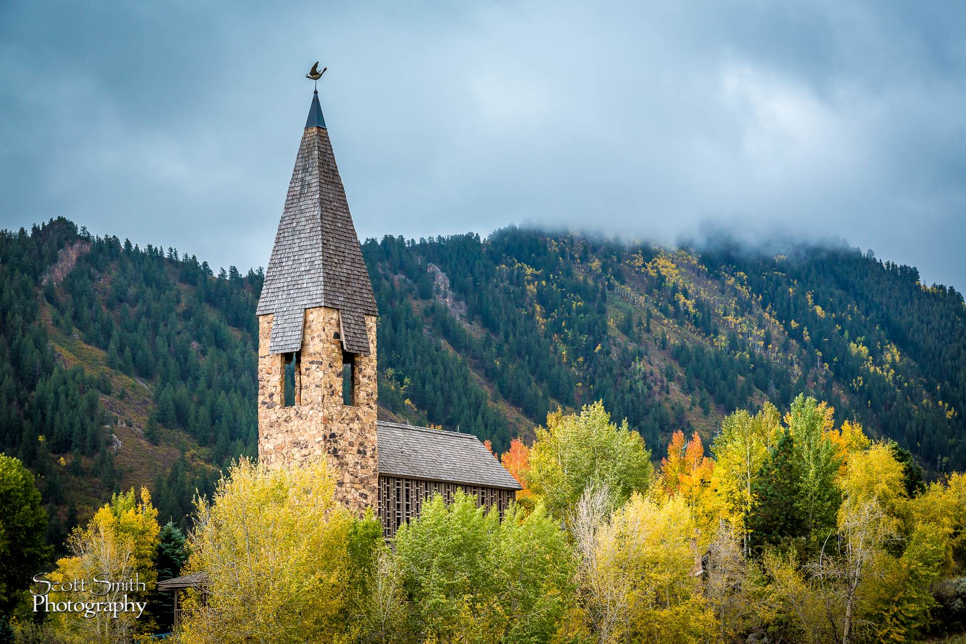 Chapel on Maroon Drive, Aspen -  by D Scott Smith