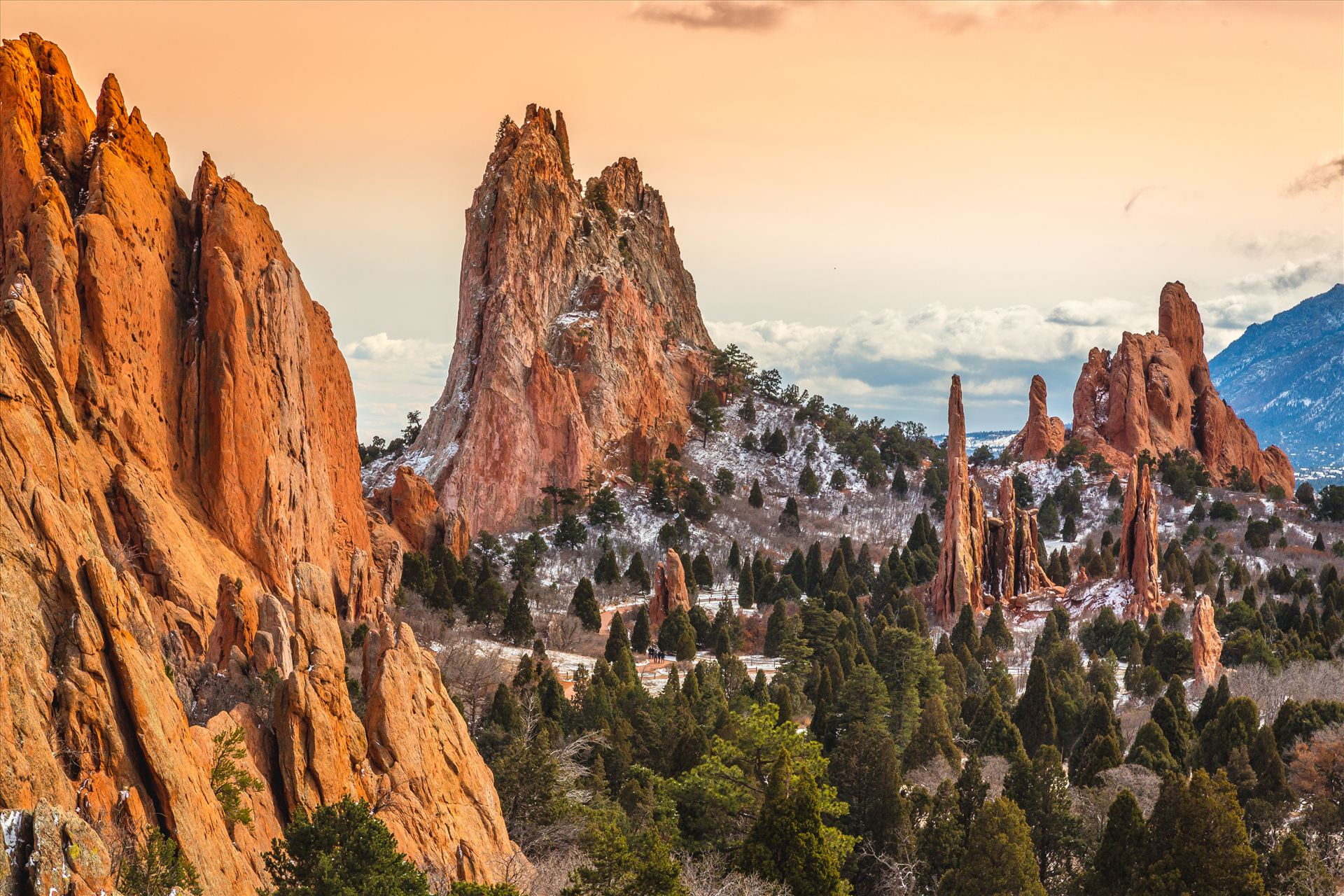 Garden of the Gods Spires No 4 -  by D Scott Smith