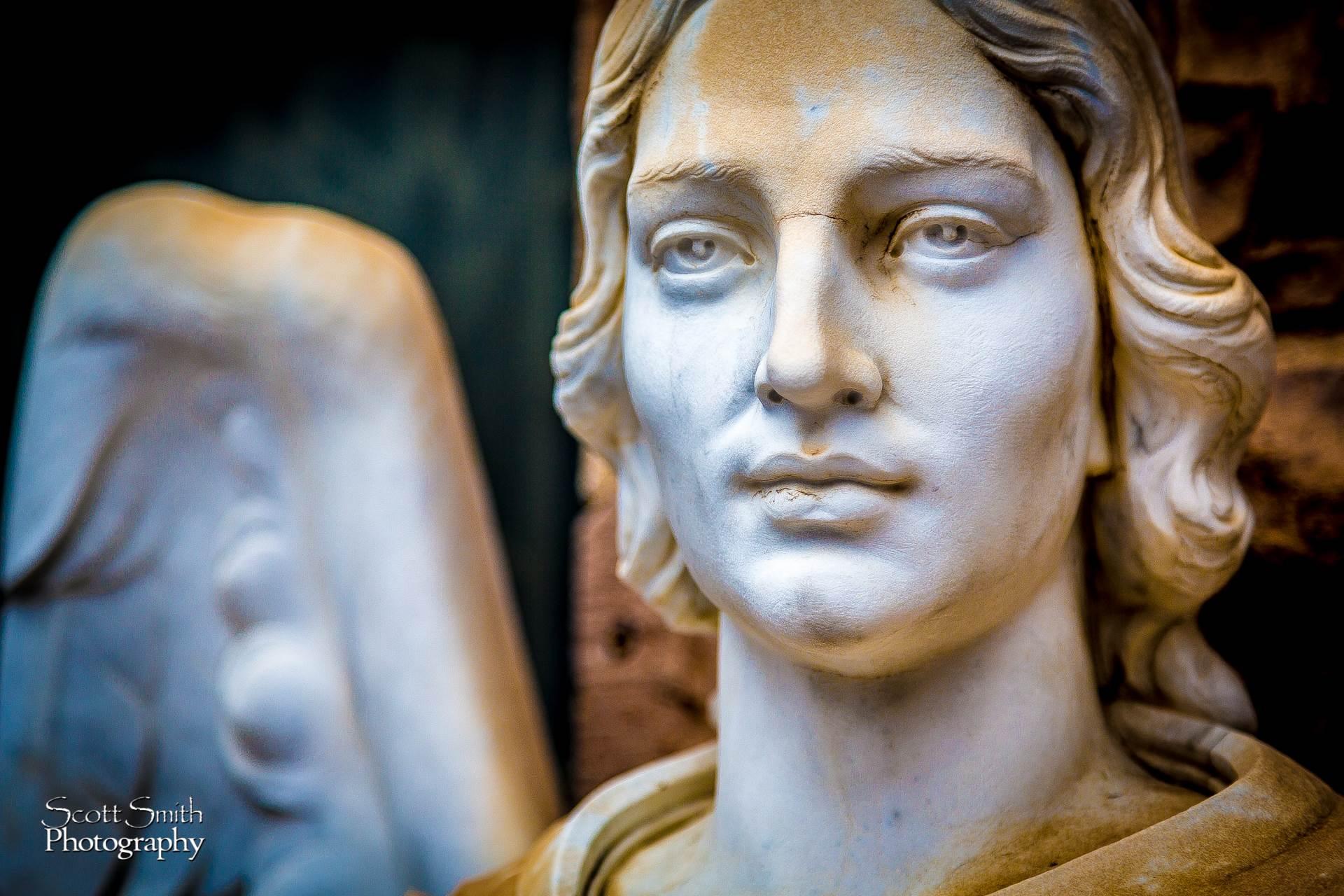 St. Luke's Angel -  by D Scott Smith