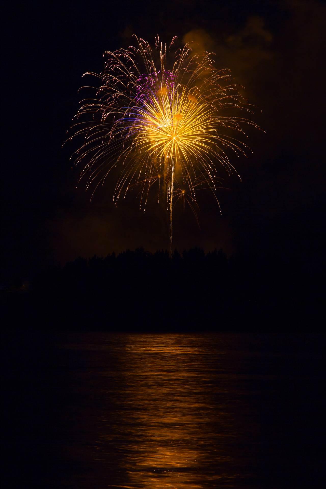 Dillon Reservoir Fireworks 2015 57 -  by D Scott Smith