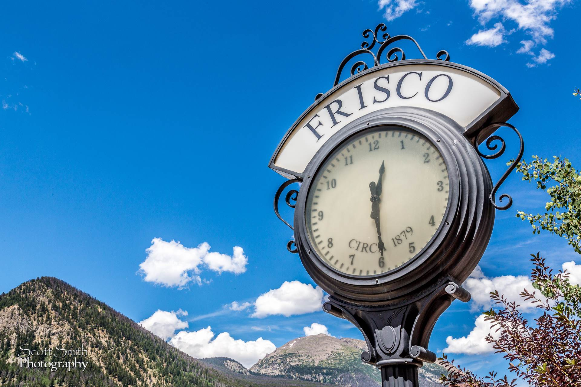 Frisco - What Time is It -  by D Scott Smith