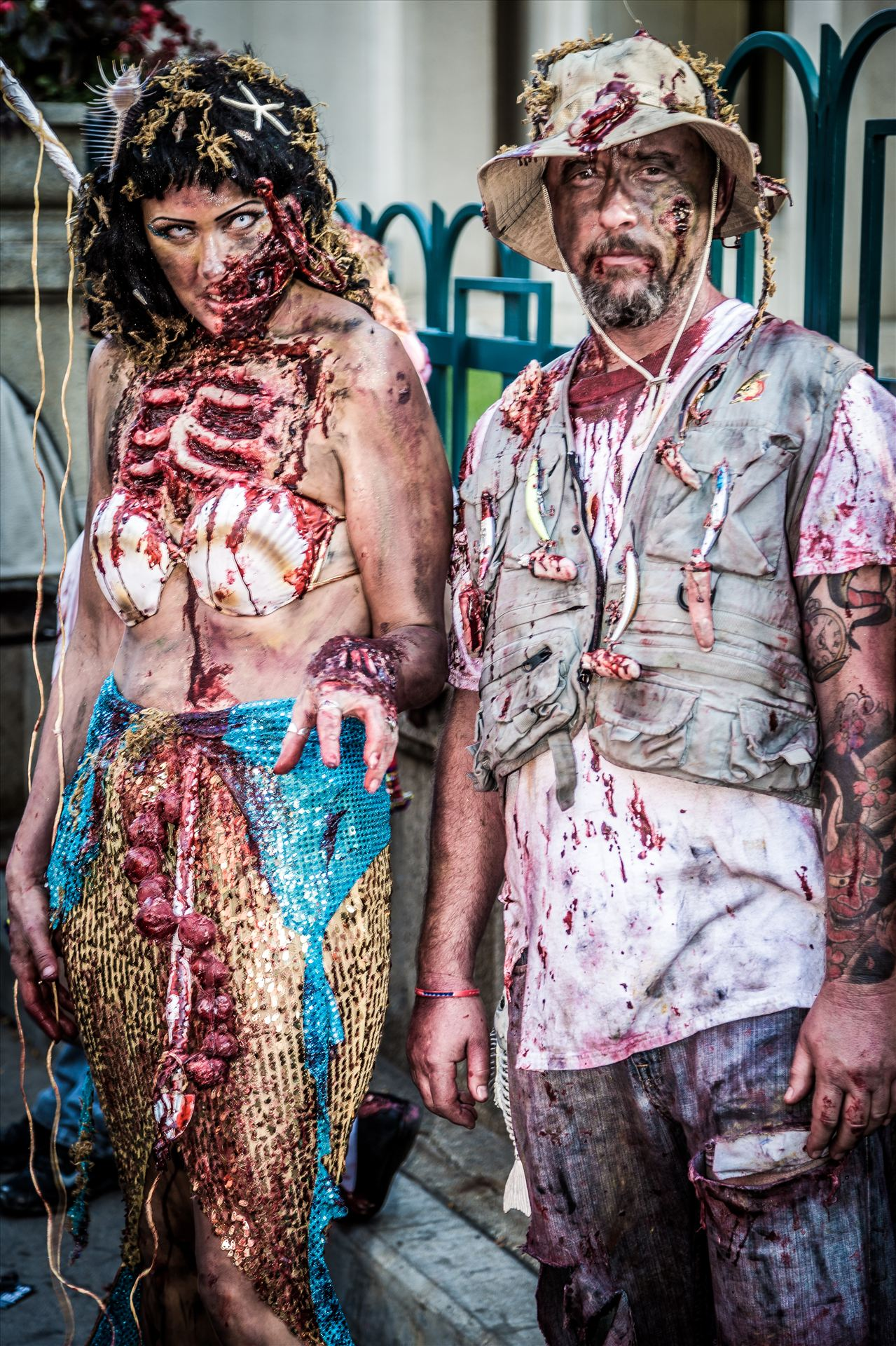 Denver Zombie Crawl 2015 3 -  by D Scott Smith