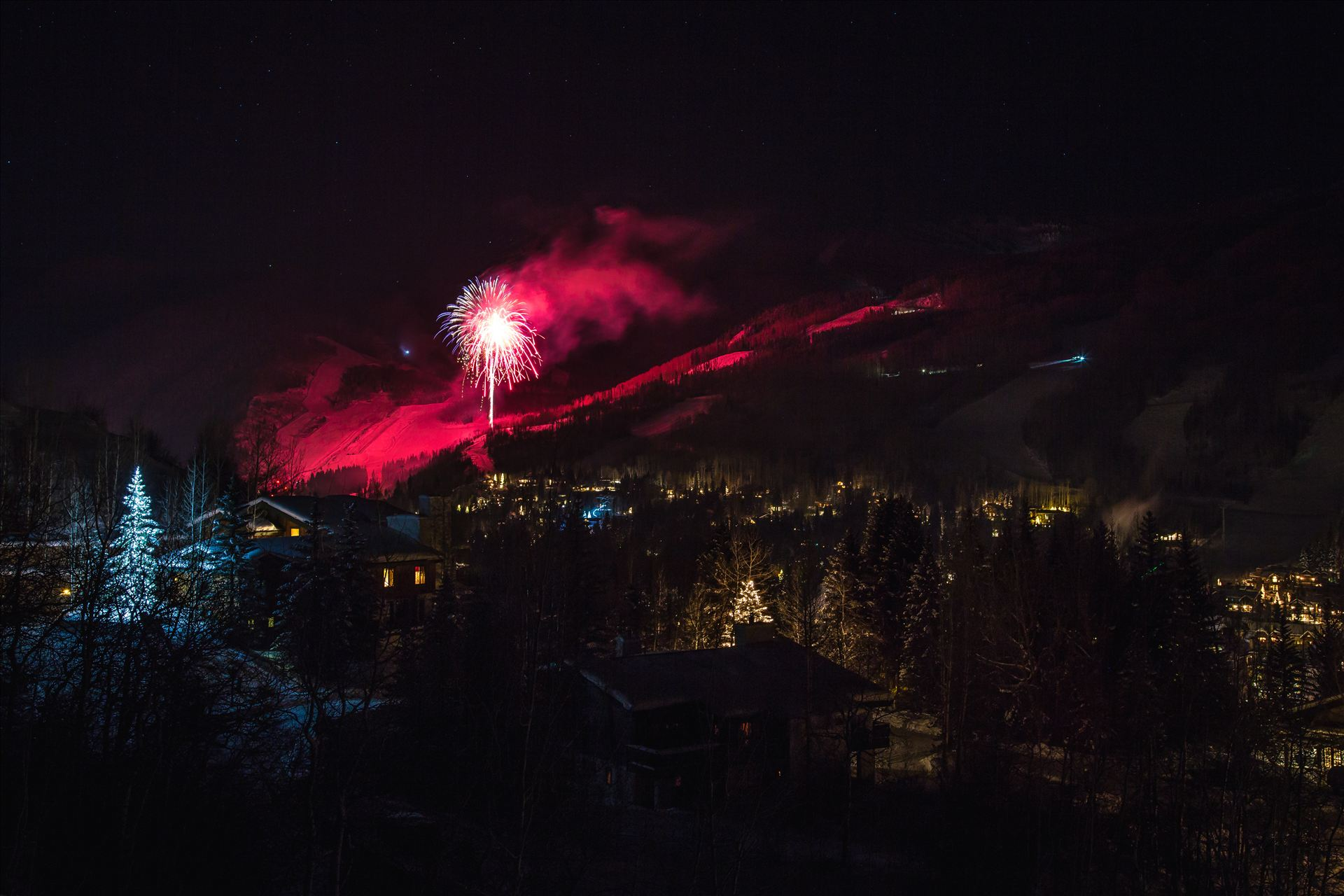 New Years Eve in Vail - A frigid end to 2015 in Vail, Colorado. by D Scott Smith