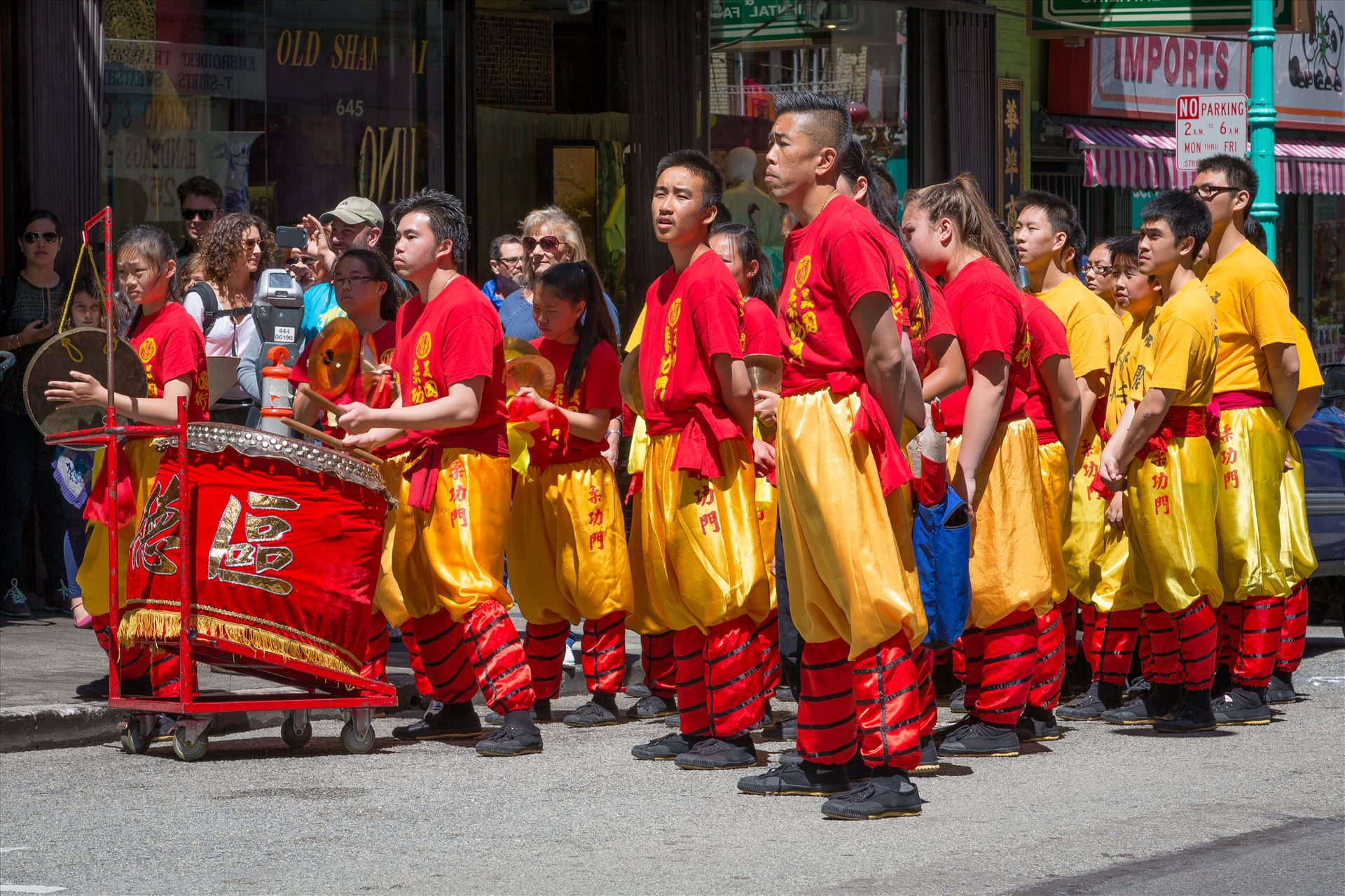 Chinatown Street Performance -  by D Scott Smith