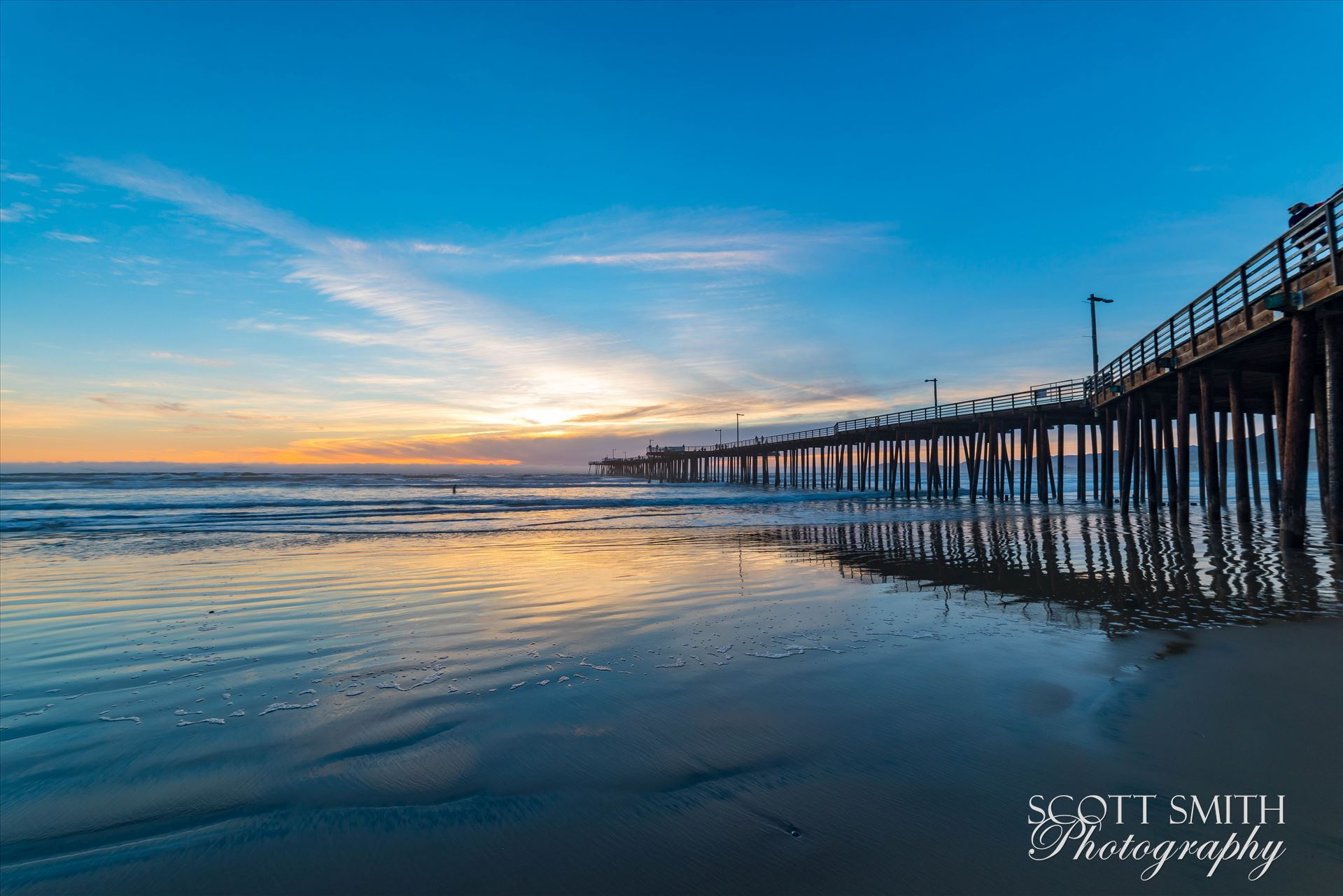 Pismo Beach Pier 4 -  by D Scott Smith