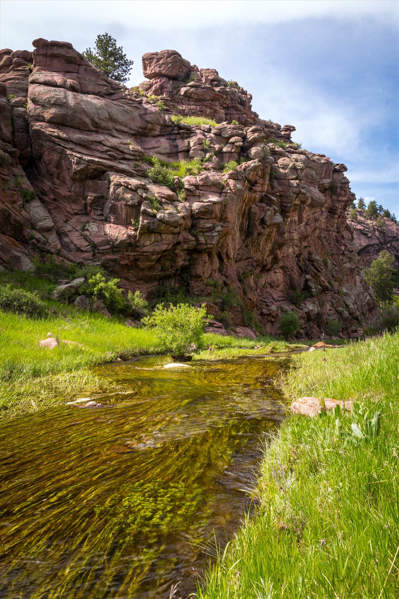 Guffy Cove (Paradise Cove) Colorado 25 -  by D Scott Smith