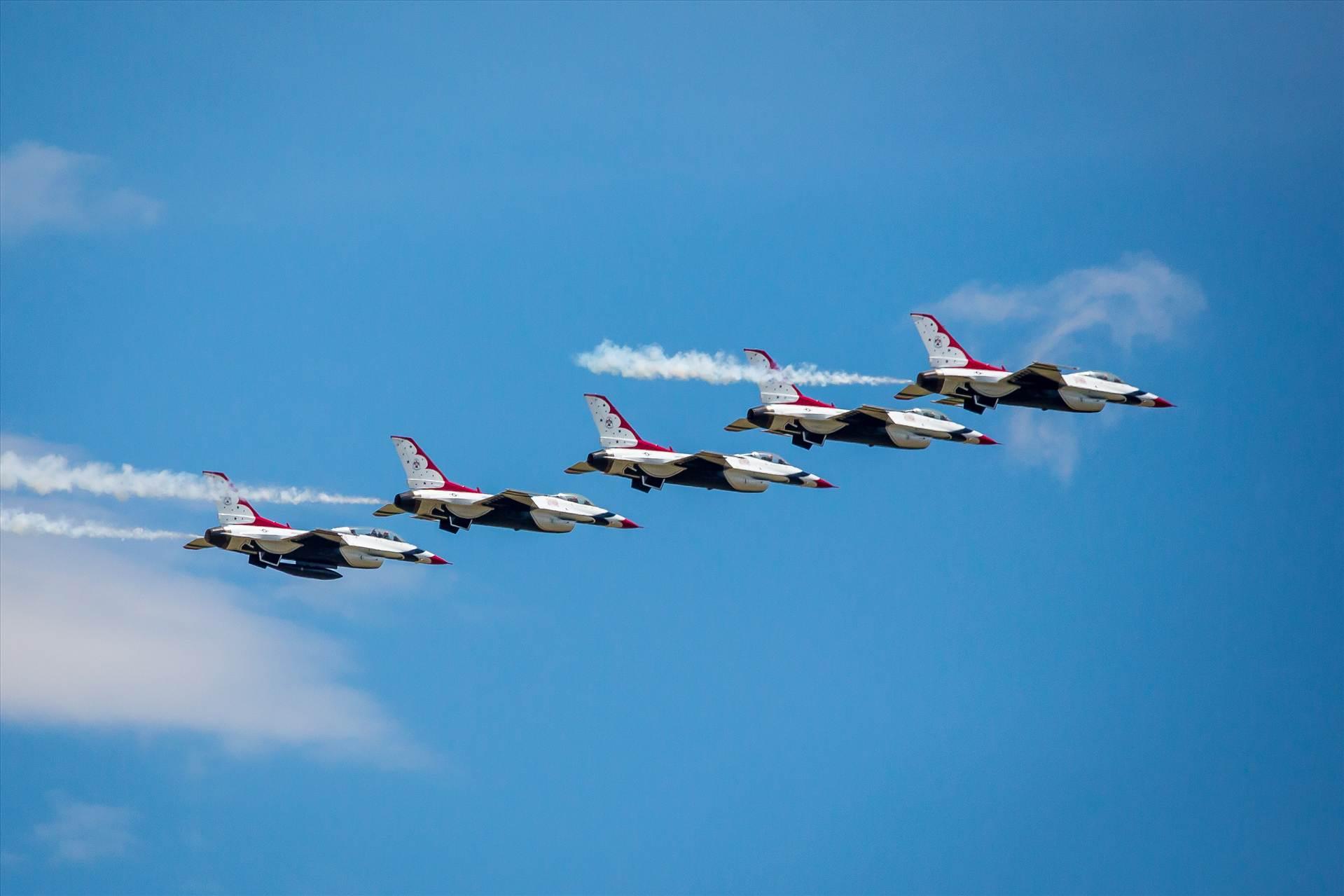 USAF Thunderbirds 7 -  by D Scott Smith