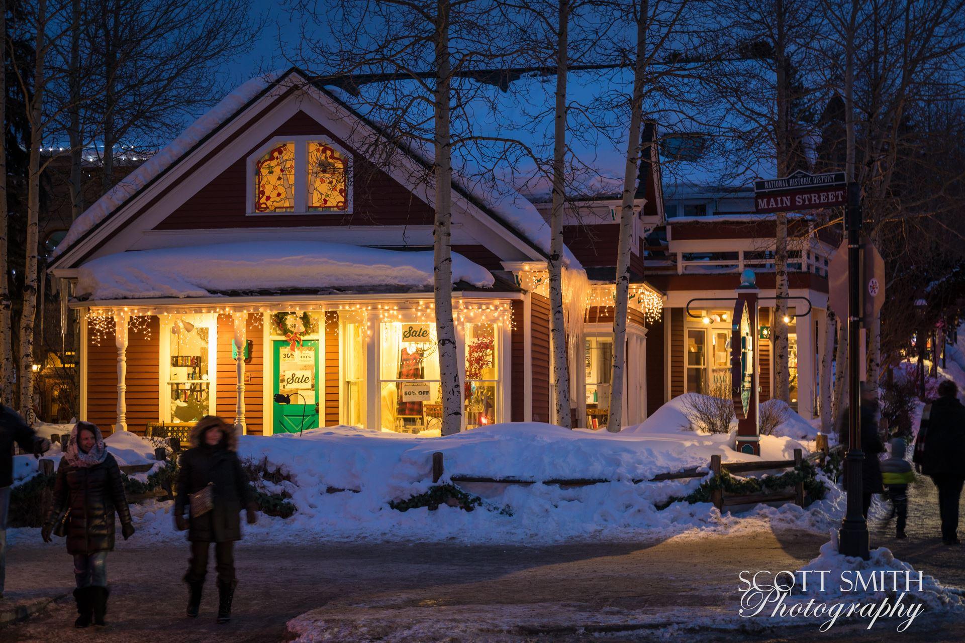 Breckenridge in Wintertime 05 -  by D Scott Smith