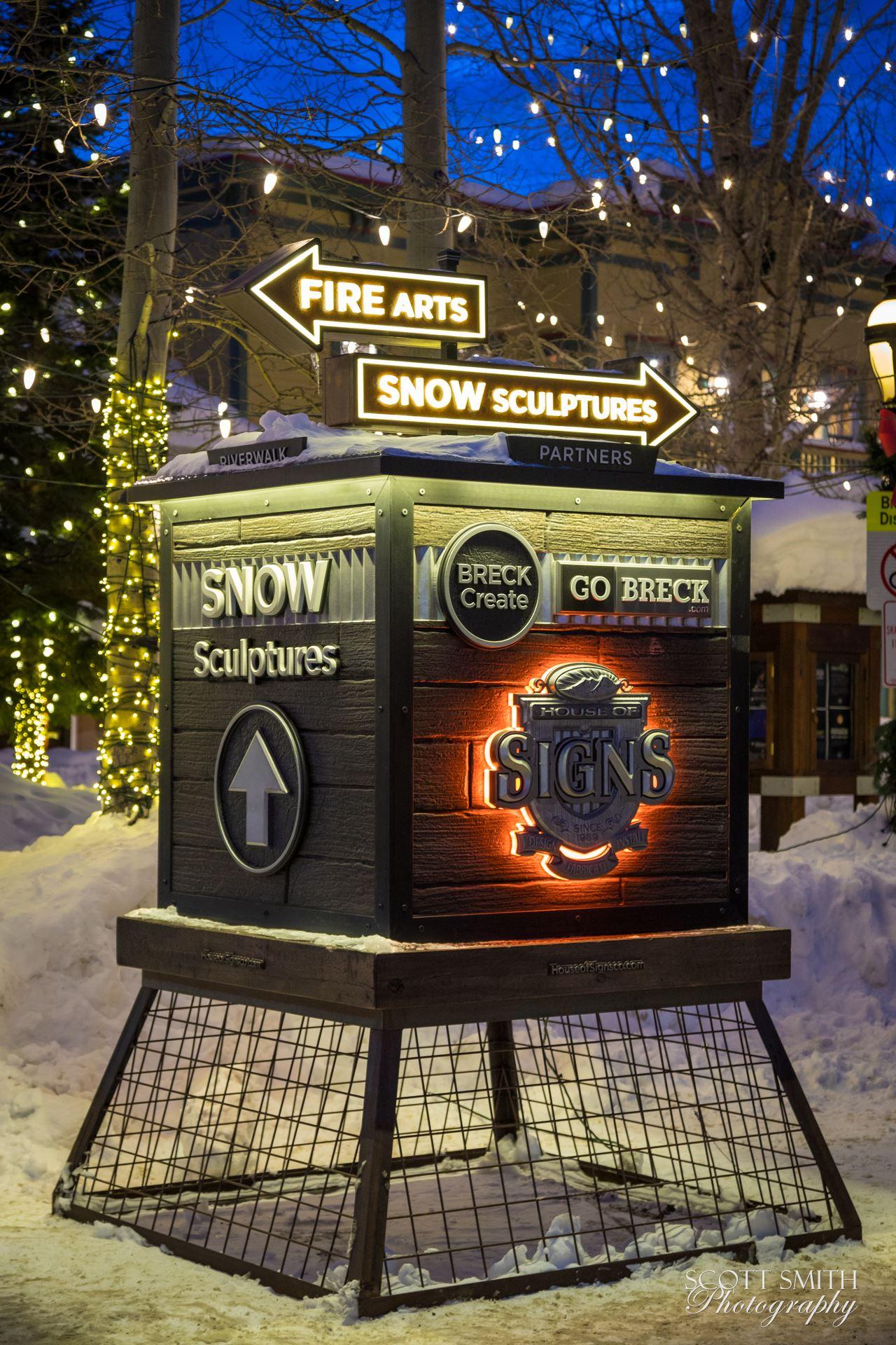Breckenridge in Wintertime 11 -  by D Scott Smith