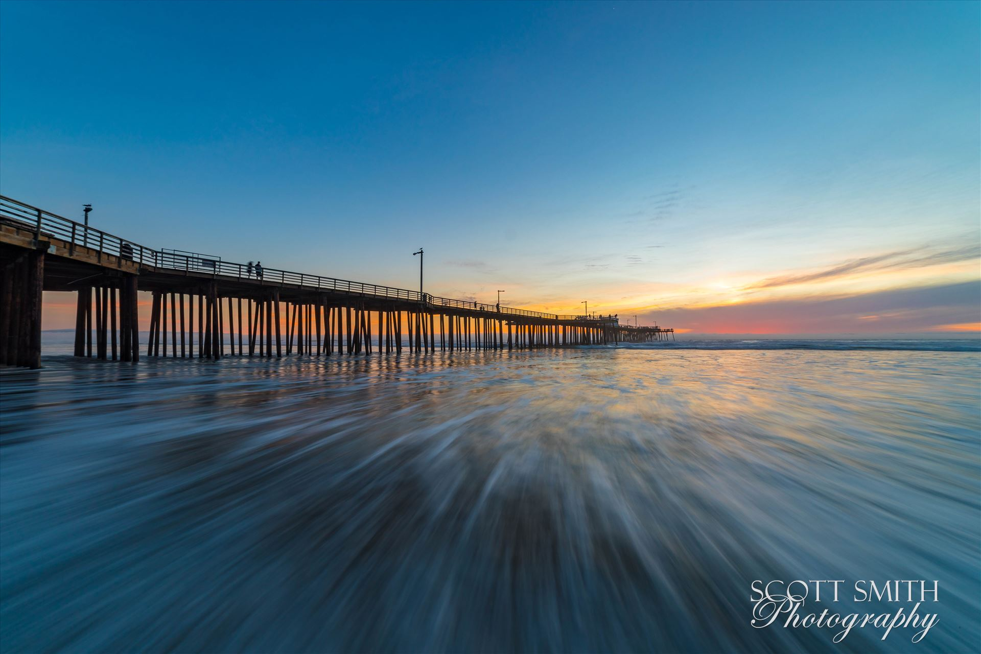 Pismo Beach Pier 1 -  by D Scott Smith