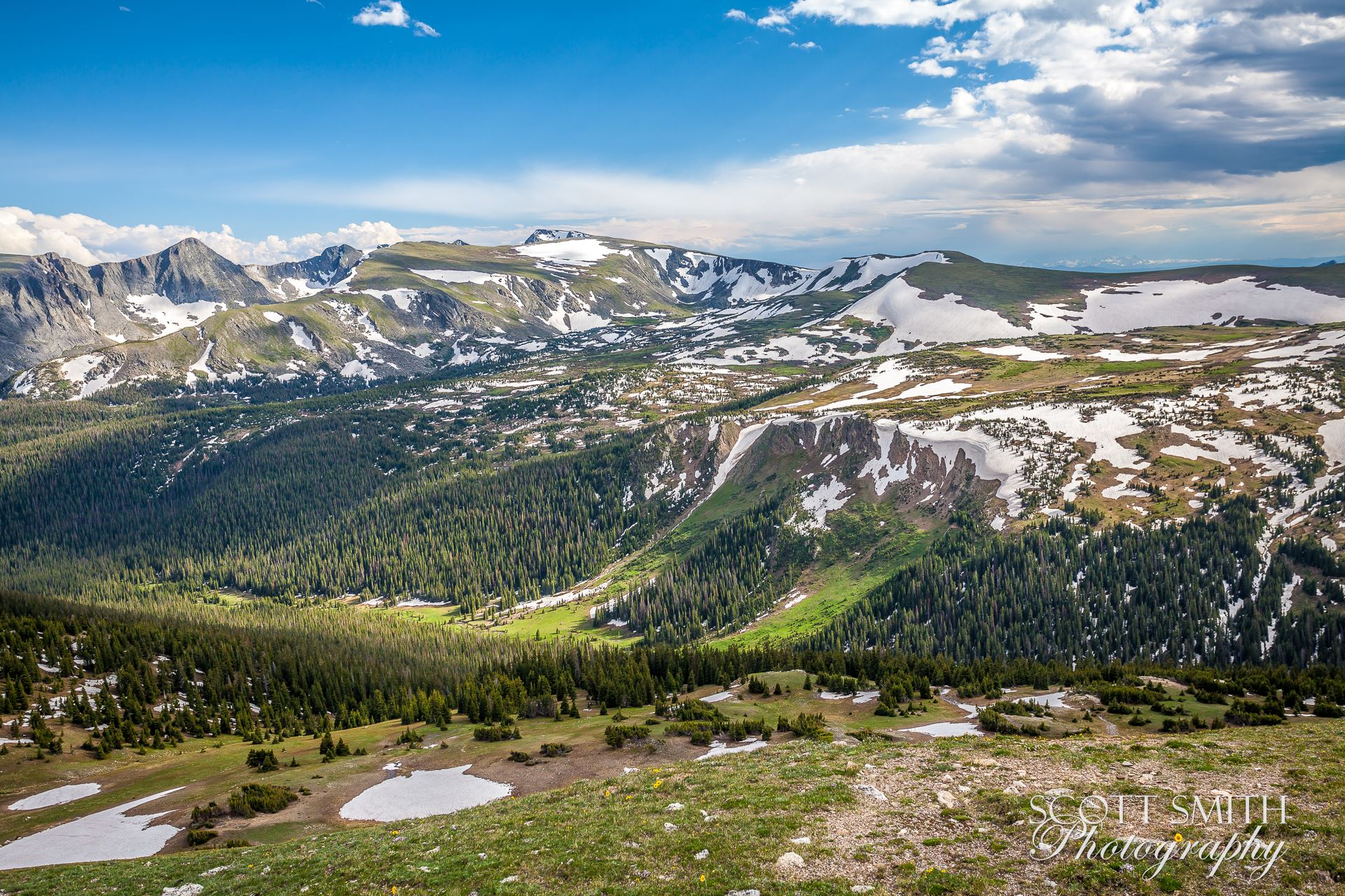 Rocky Mountain National Park 4 -  by D Scott Smith