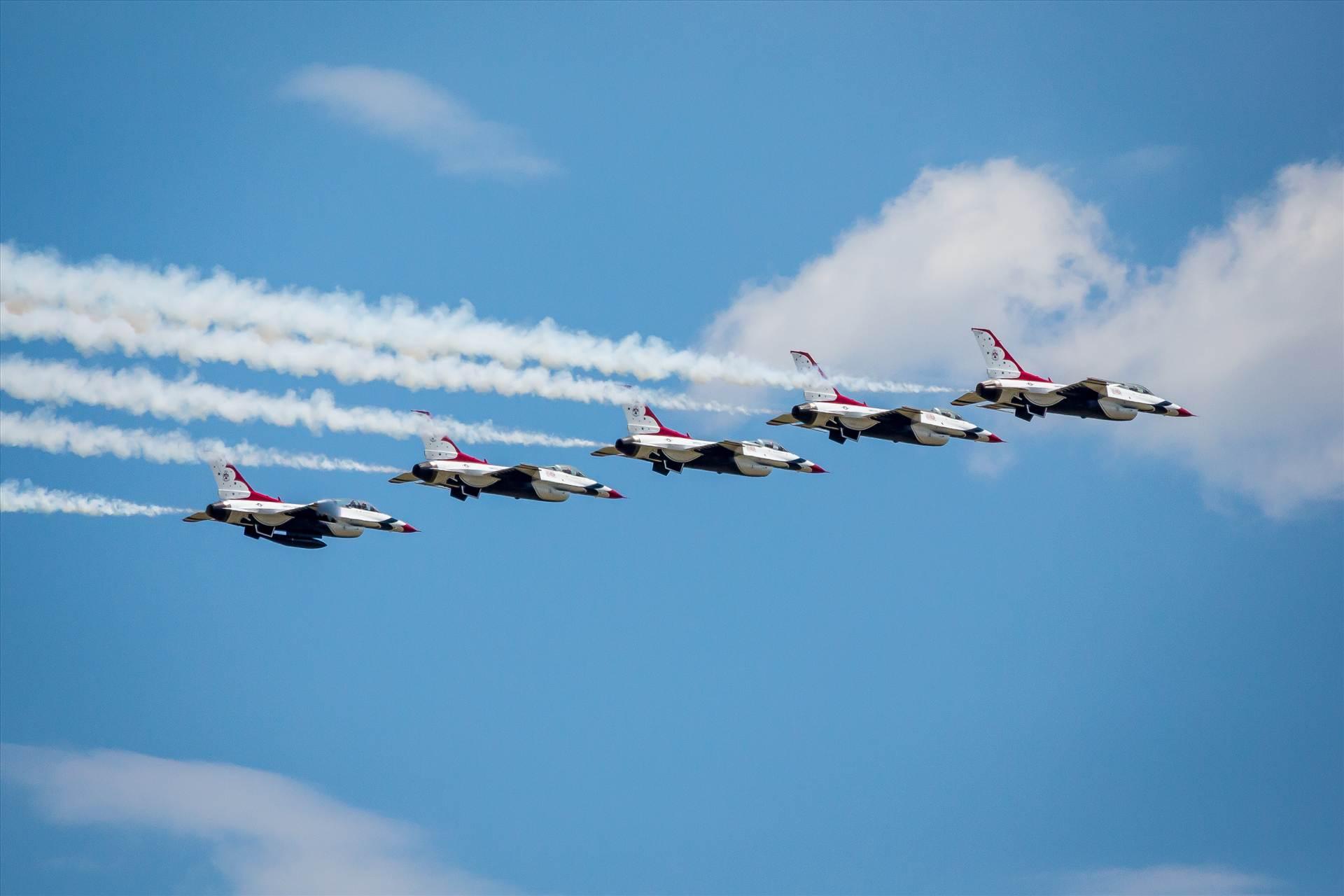 USAF Thunderbirds 6 -  by D Scott Smith