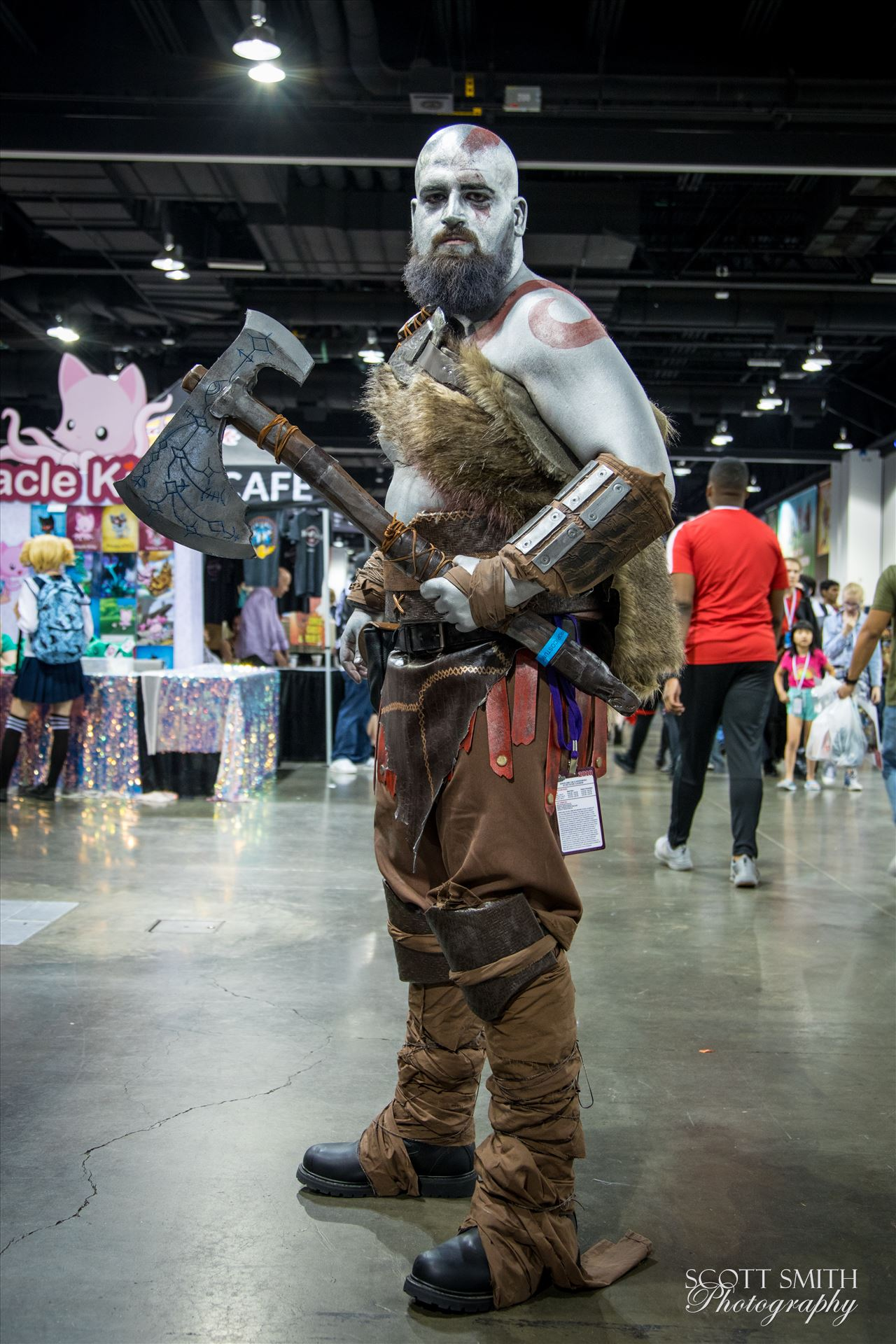God of War at Denver Comic Con 2018 -  by D Scott Smith