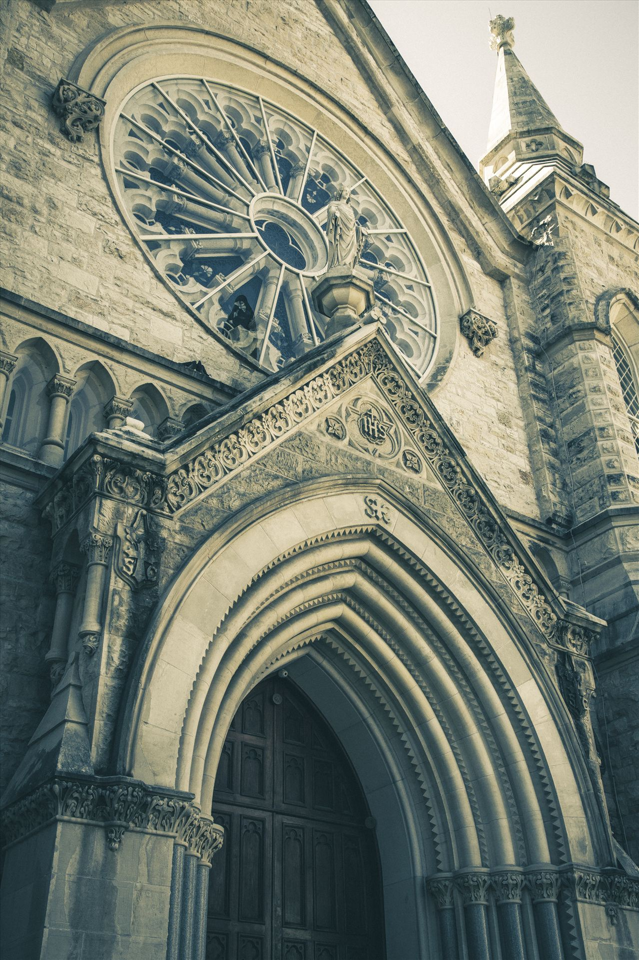 St Mary Cathedral - St Mary Cathedral in downtown Austin by D Scott Smith