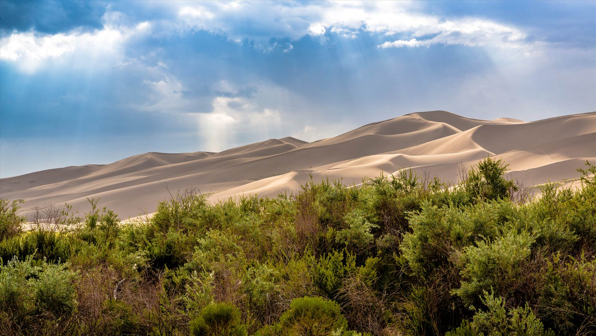 Great Sand Dunes 12 -  by D Scott Smith