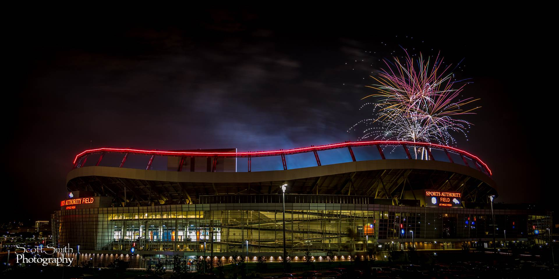 Fourth of July at Mile High -  by D Scott Smith