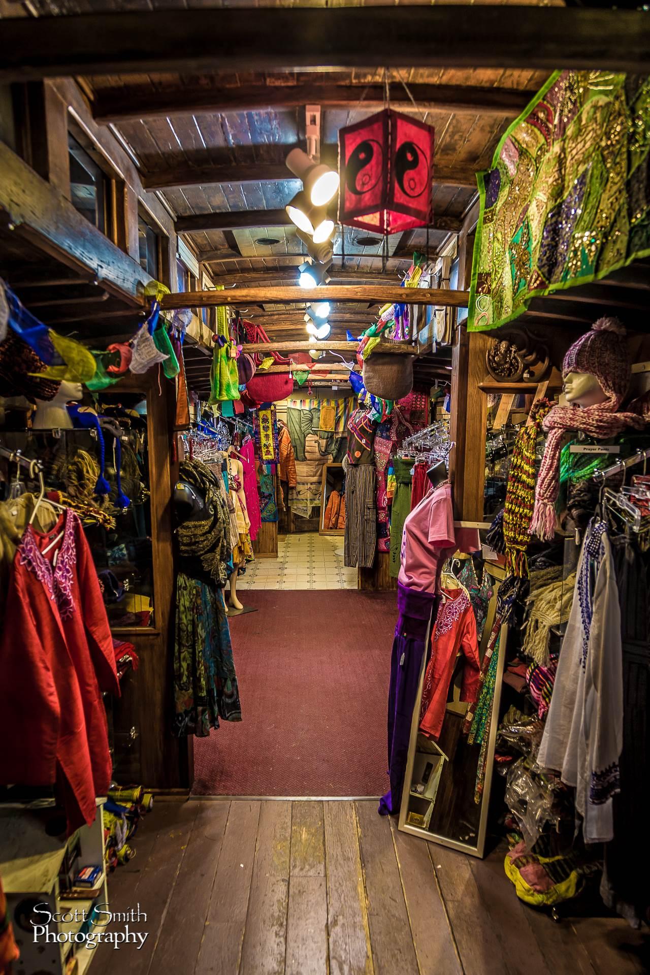 Quaint Shop - A beautiful little shop in Frisco, Colorado. by D Scott Smith