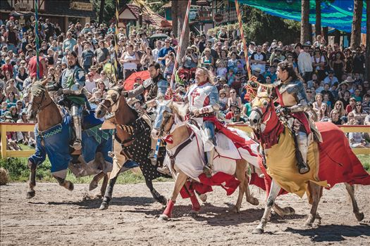 The annual Renaissance Faire in Larkspur, Colorado