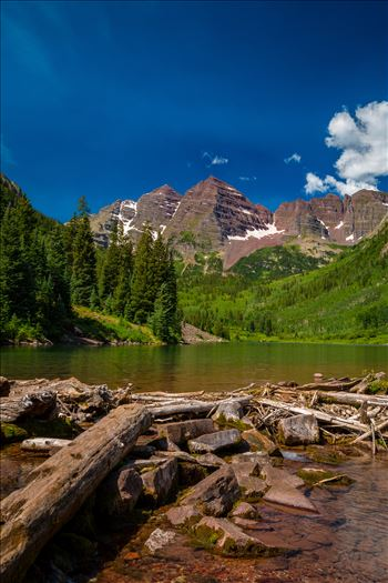 Preview of Maroon Bells in Summer No 02