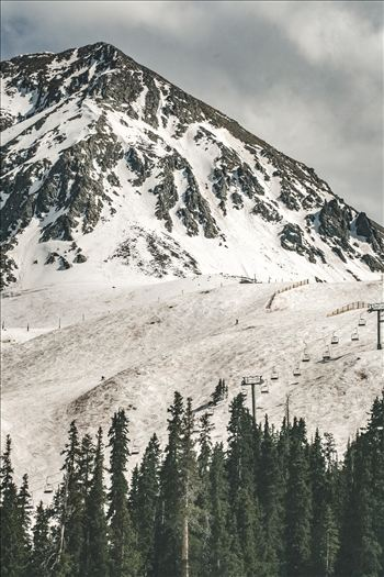 Lenawee Mountain at Arapahoe Basin, Colorado