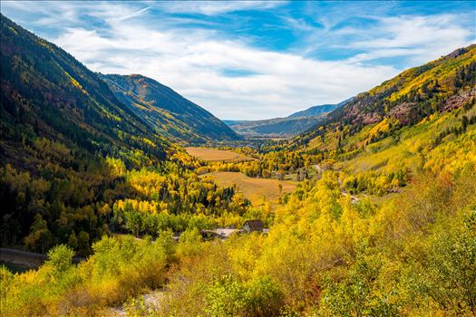 Ophir Pass, between Ouray and Silverton Colorado in the fall.