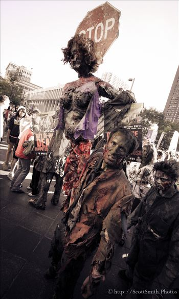 Zombie Crawl Denver 2015 - Denver's Zombie Crawl, sponsored by I Heart Brains.
