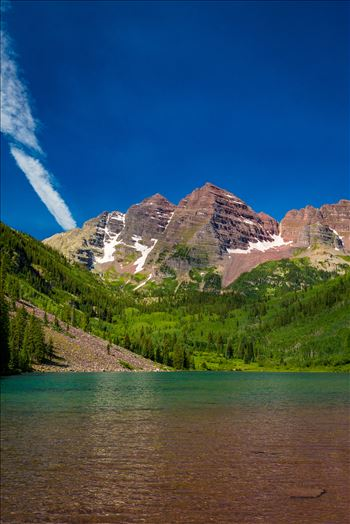 Preview of Maroon Bells in Summer No 01
