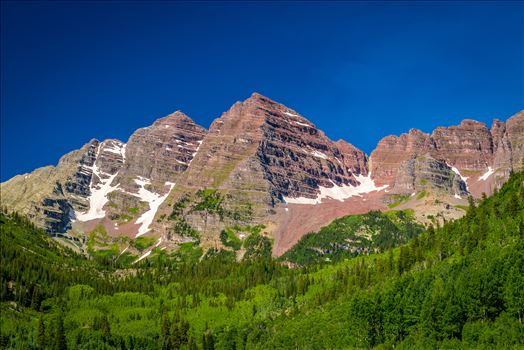 Preview of Maroon Bells in Summer No 09