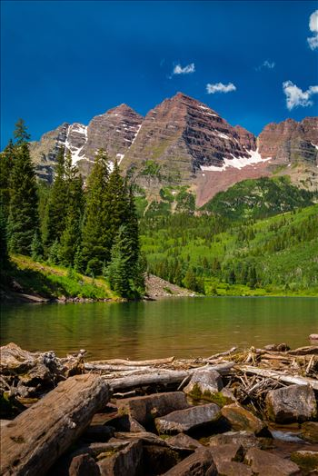 Preview of Maroon Bells in Summer No 10