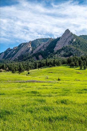 The Flatirons, taken near the National Atmospheric Research Laboratory in Boulder, CO.