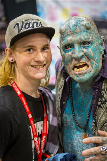 Denver Comic Con 2016 31 - Denver Comic Con 2016 at the Colorado Convention Center. The Enigma with my son.