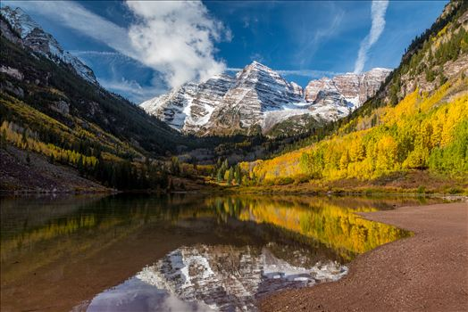 The Maroon Bells, Saturday 9/29/17.