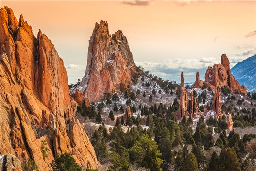 Preview of Garden of the Gods Spires No 4