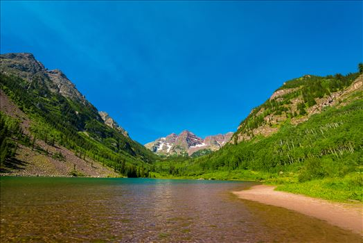 Preview of Maroon Bells in Summer No 13