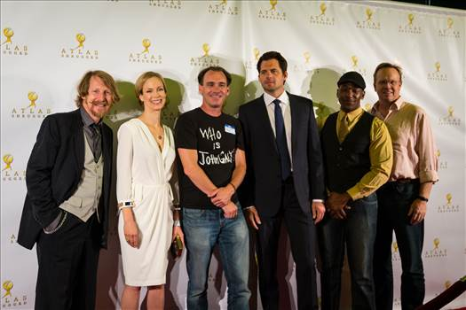 Lew Temple, Laura Regan, Kristoffer Polaha, Peter Mackenzie, Dominic Daniel, (and me) from Atlas Shrugged: Who is John Galt?