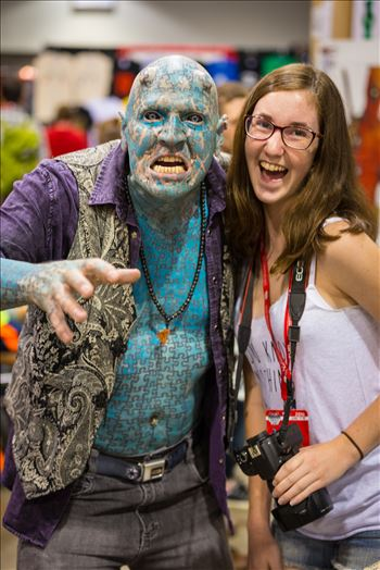 Denver Comic Con 2016 32 - Denver Comic Con 2016 at the Colorado Convention Center. The Enigma with my daughter.